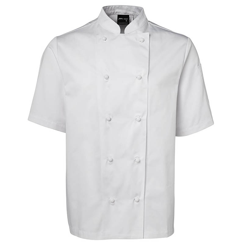JB'S VENTED CHEF'S S/S JACKET